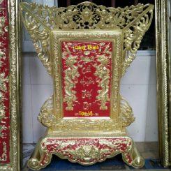 bài vị thờ gia tiên bằng đồng cửa huyền thất tổ