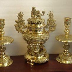 đồ thờ cúng bằng đồng
