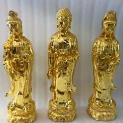 tượng Tây Phương Tam Thánh