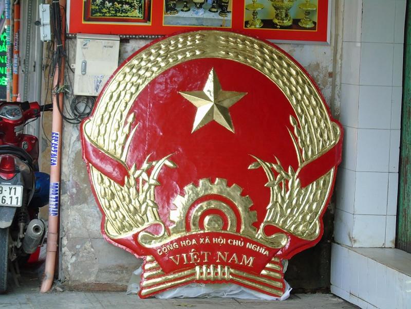 quốc huy nước CHXHCN Việt Nam bằng đồng