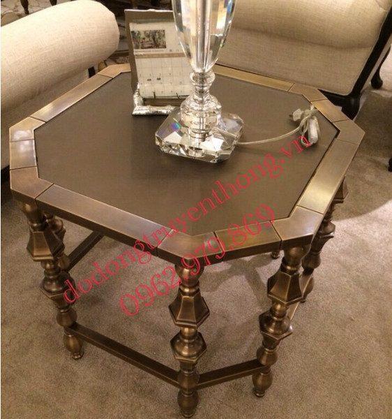 bàn ghế bằng đồng