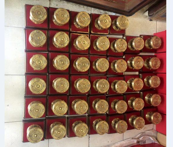 trống đồng lưu niệm 12 cm