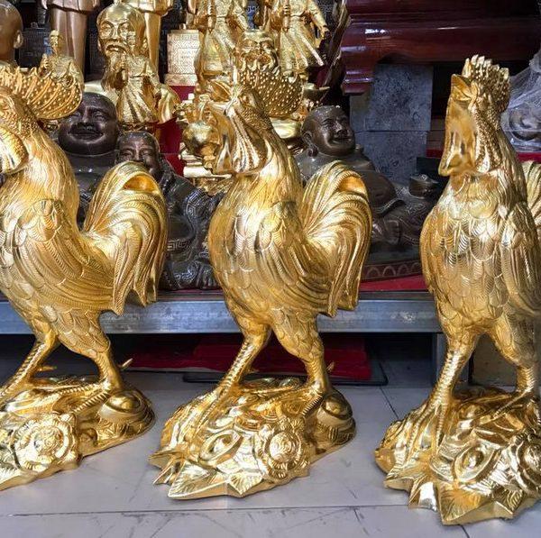 tượng gà phong thủy