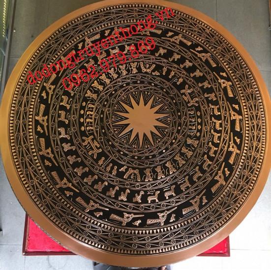 trống đồng đỏ 60cm