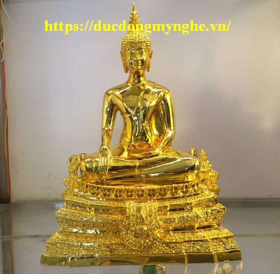 tượng phật thái mạ vàng