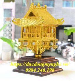 biểu tượng chùa một cột mạ vàng