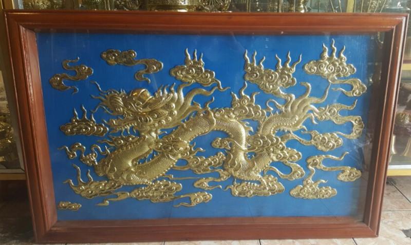 tranh rồng bằng đồng