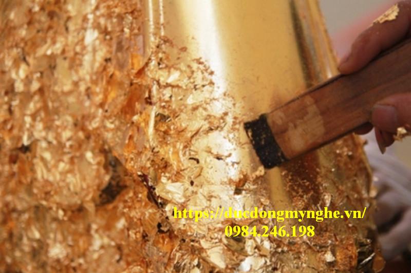 dát vàng tượng phật tại tphcm