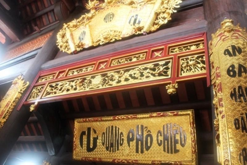 hoành phi câu đối bằng đồng cho nhà chùa